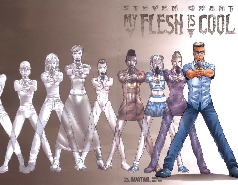 Download My Flesh Is Cool #1-3 Complete