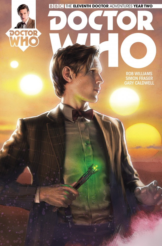 Download Doctor Who The Eleventh Doctor Year Two #14