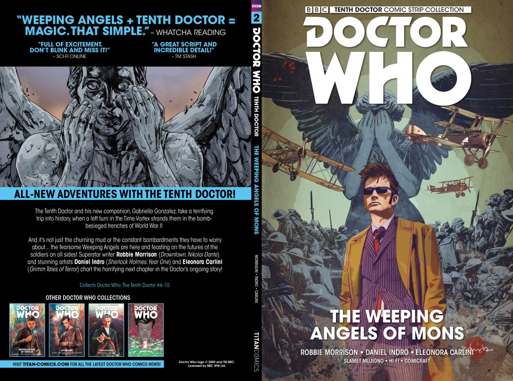 Download Doctor Who - The Tenth Doctor Vol.2 - The Weeping Angels of Mons