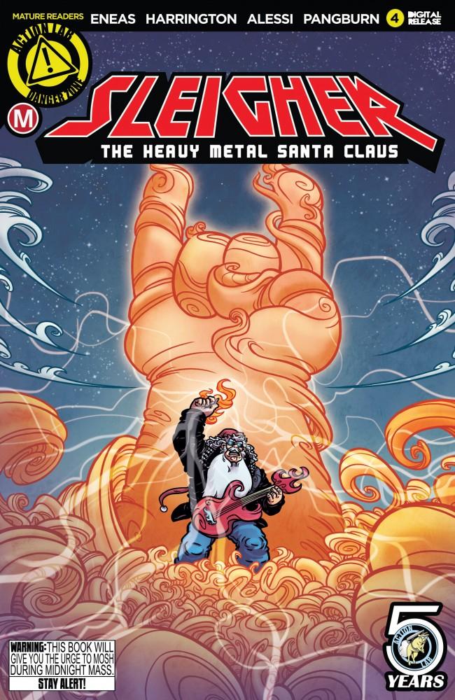 Download Sleigher - The Heavy Metal Santa Claus #4