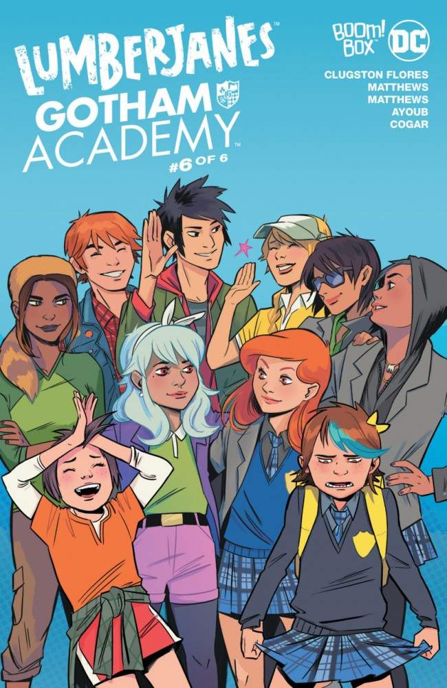 Download Lumberjanes - Gotham Academy  #6