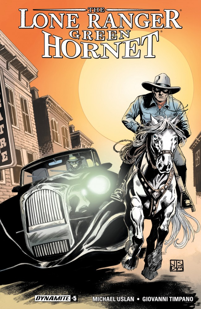 Download Lone Ranger - Green Hornet #5