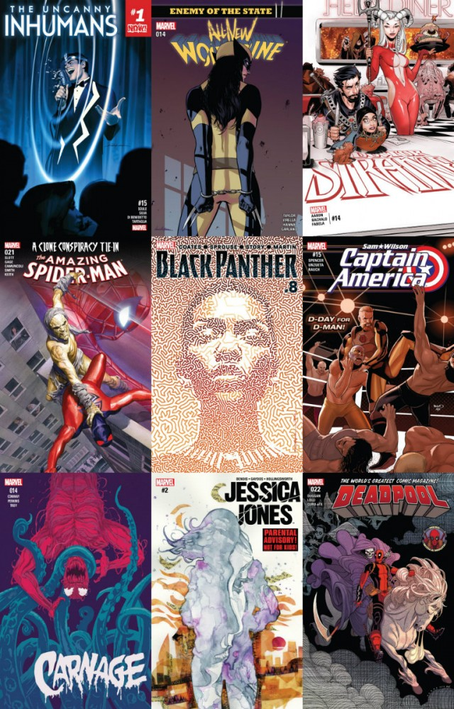 Download Collection Marvel (16.11.2016, week 46)