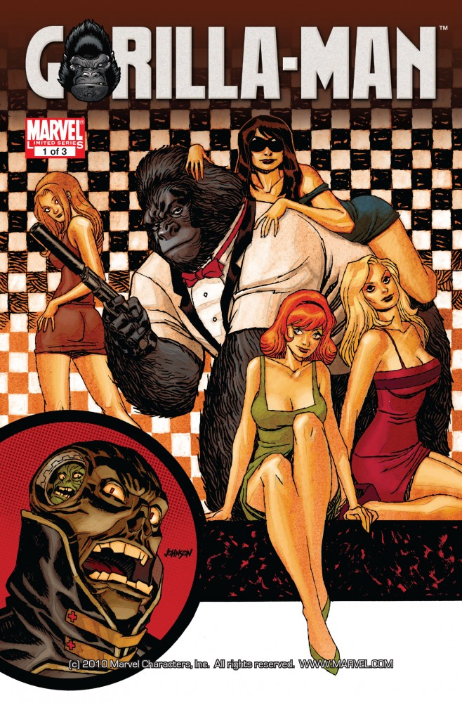 Download Gorilla Man #1-3 Complete
