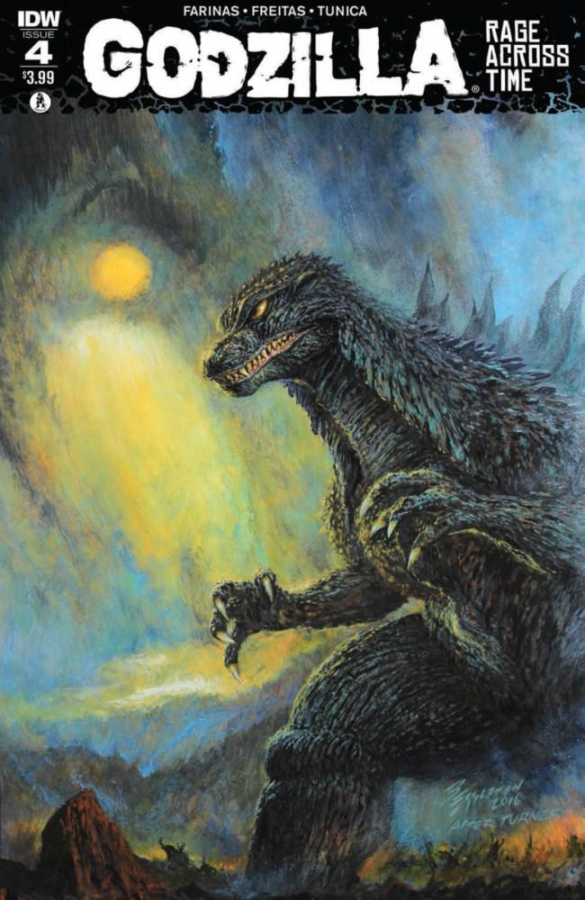 Download Godzilla - Rage Across Time #4