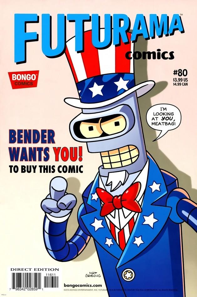 Bongo Comics Presents Futurama Comics #80