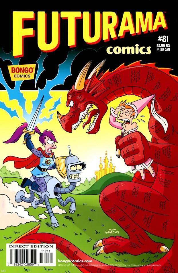 Bongo Comics Presents Futurama Comics #81