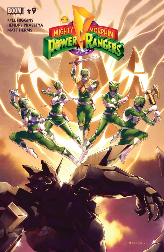Download Mighty Morphin Power Rangers #9