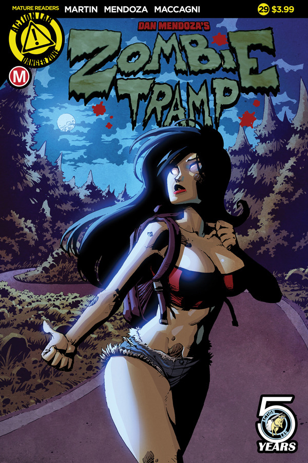 Download Zombie Tramp #29