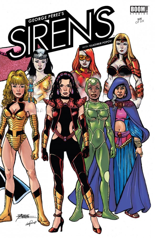Download George Perez's Sirens #06