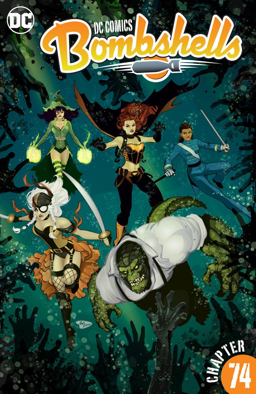 Download DC Comics - Bombshells #74