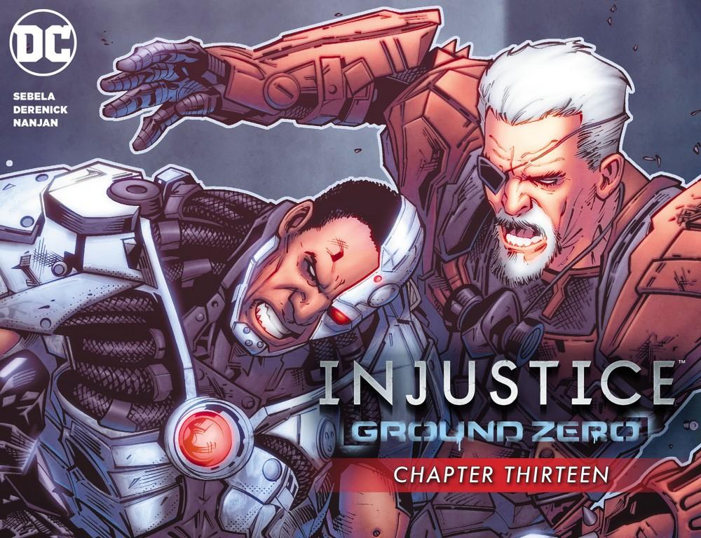 Download Injustice - Ground Zero #13