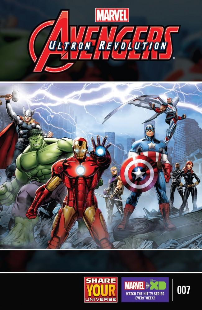 Marvel Universe Avengers – Ultron Revolution #7
