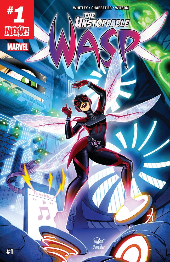 Download The Unstoppable Wasp #1