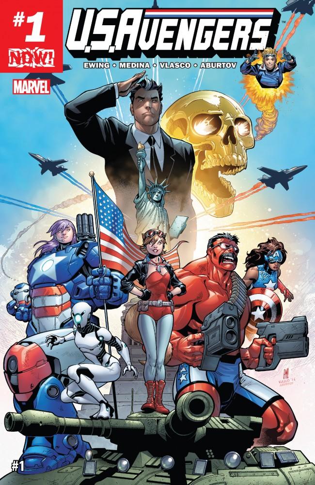 Download U.S.Avengers #1