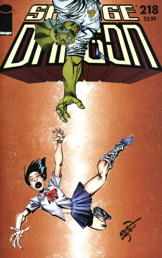 Download Savage Dragon #218