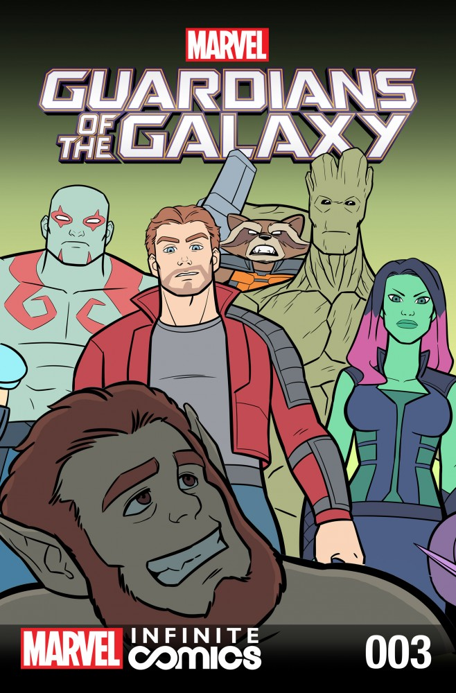 Download Guardians of the Galaxy - Awesome Mix Infinite Comic #03