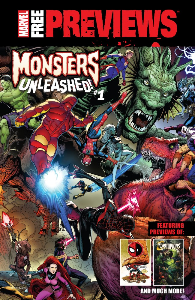 Download Marvel Free Previews Monsters Unleashed #1