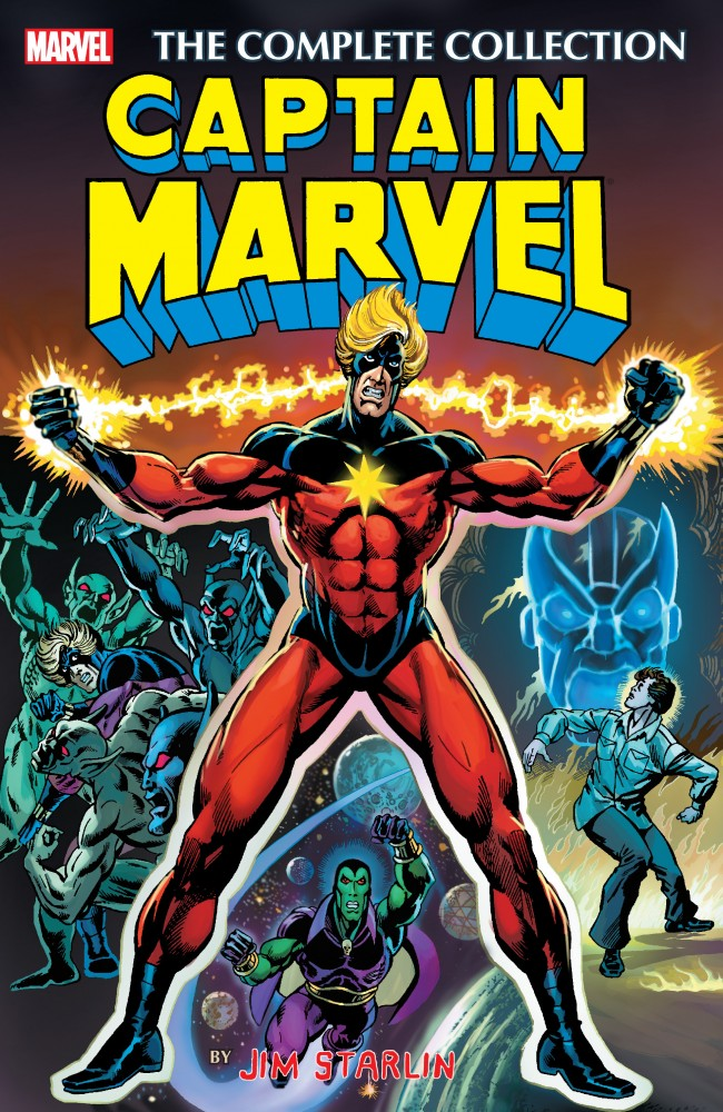 Download Captain Marvel by Jim Starlin - The Complete Collection #1