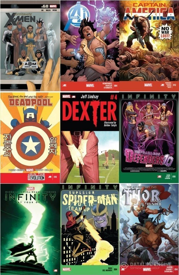 Collection Marvel (09.10.2013, week 41)
