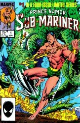 Prince Namor The Sub-Mariner #01-04 Complete
