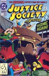 Justice Society of America (Volume 2) 1-10 series