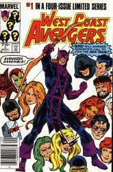 West Coast Avengers #01-47 + Annuals Complete