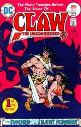 Claw the Unconquered (volume 1) 1-12 series