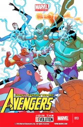 Marvel Universe - Avengers Earth's Mightiest Heroes #13