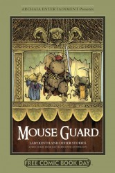 Mouse Guard - The Tale of Baldwin the Brave