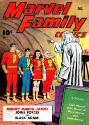 The Marvel Family #01-89 Complete
