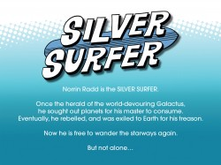 Silver Surfer Infinite Comic #01