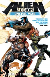 Alien Legion - Uncivil War (TPB)