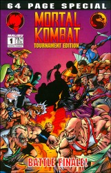 Mortal Kombat Tournament Edition (1-2 series) Complete