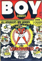 Boy Comics (003-117 series) Complete