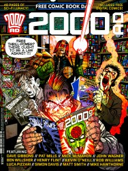 2000AD Free Comic Book Day