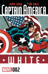Captain America - White #02