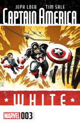 Captain America - White #03