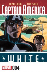 Captain America - White #04
