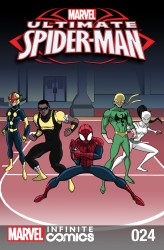 Download Ultimate Spider-Man Infinite Comic #24