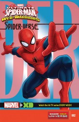 Marvel Universe Ultimate Spider-Man - Web-Warriors - Spider-Verse #02