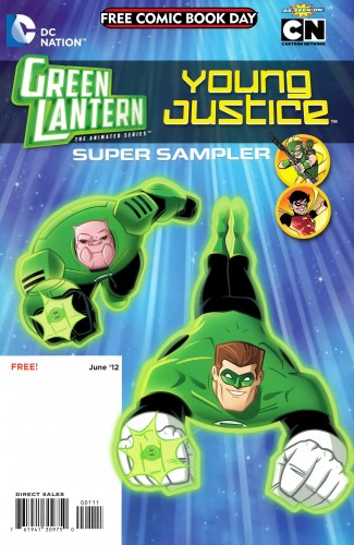 DC Nation FCBD Super Sampler - Superman Family Adventures Flip