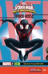 Marvel Universe Ultimate Spider-Man - Web-Warriors - Spider-Verse #03