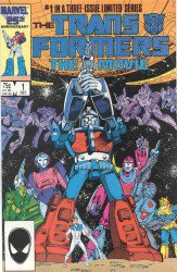 The Transformers: The Movie #1-3 Complete