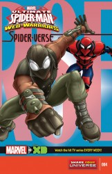 Marvel Universe Ultimate Spider-Man - Web-Warriors - Spider-Verse #04