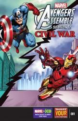 Download Marvel Universe Avengers Assemble - Civil War #1