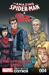 The Amazing Spider-Man and Silk - Spider Fly Effect Infinite Comic #4