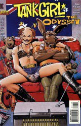 Tank Girl: The Odyssey #1-4 Complete