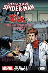The Amazing Spider-Man and Silk - Spider Fly Effect Infinite Comic #5