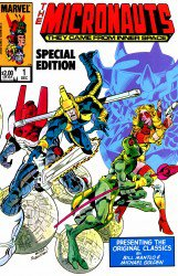 Micronauts Special Edition #1–5 Complete